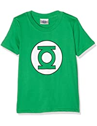 DC Comics Boy's Green Lantern Circle Short Sleeve T-Shirt