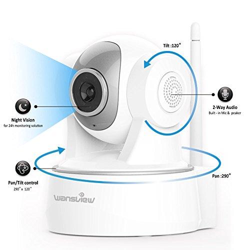 Wansview 1080P WiFi Wlan IP Sicherheits kamera - 2