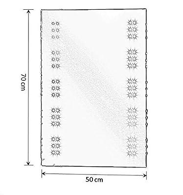 MY-Furniture MATRIX, LED beleuchteter Badezimmerspiegel/IP44/Anti-Beschlag/Rasierer/Bewegungssensor/Uhr