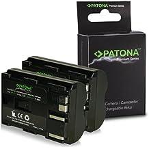 2x Premium Batería BP-511 BP511 para Canon PowerShot G1 | G2 | G3 | G5 | G6 | Pro1 | Pro 90 IS | EOS 5D | 50D | 10D | 20D | 20Da | 30D | 40D | 300D