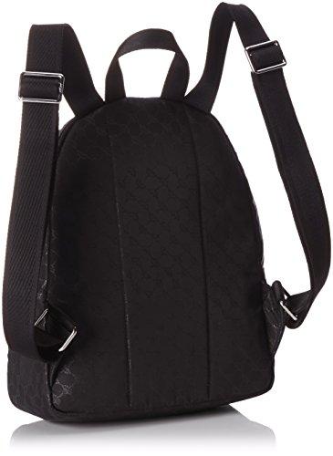 JOOP! Damen Nylon Cornflower Nika Backpack Mvz Rucksackhandtaschen, 27 x 33 x 12 cm Schwarz (900)