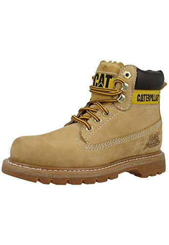 cat-scarpe-caterpillar-colorado-miele-wc44100-940-grosse-schuhe-unisex40