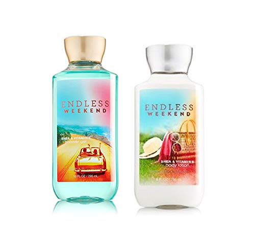 Festival-Gift-Set-Bath-Body-Works-Endless-Weekend-Body-Lotion-Shower-Gel