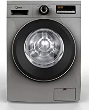Midea Front Load Fully Automatic Washer 8kg, 1400RPM, Silver, MFG80S, 1 year warranty