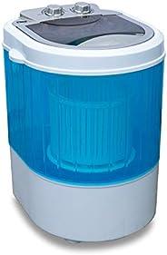 Molino Mini machine à laver avec essoreuse, machine à laver de camping jusqu'à 3 kg, petite et maniable av