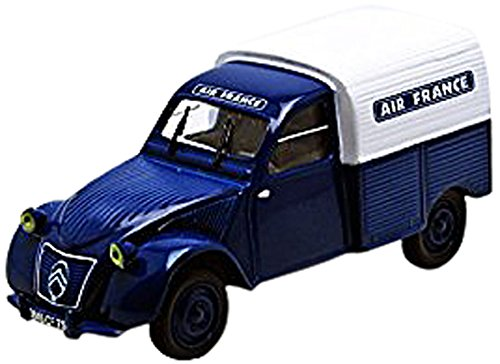 epm-af03-vehiculo-miniatura-modelos-a-escala-citroen-2cv-van-air-france-escala-1-43