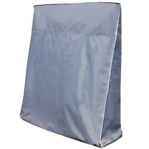 CoverMe Tischtennisplatte Abdeckung - Extrem robuste Abdeckhülle & Lange Lebensdauer - Premium Schutzhülle aus 420D Oxford Gewebe - für alle gängigen Platten (grau, Standart)
