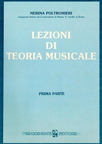 Lezioni di teoria musicale: 1