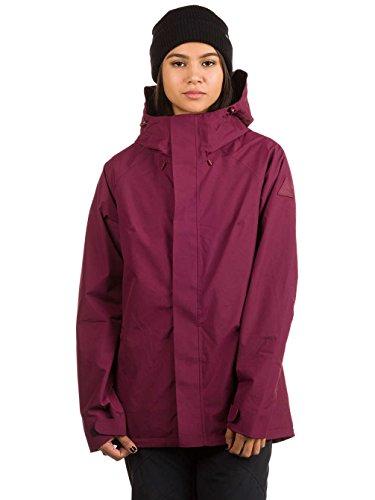 Damen Snowboard Jacke Burton Rubix Jacke Burton Snowboard Jacke Rot