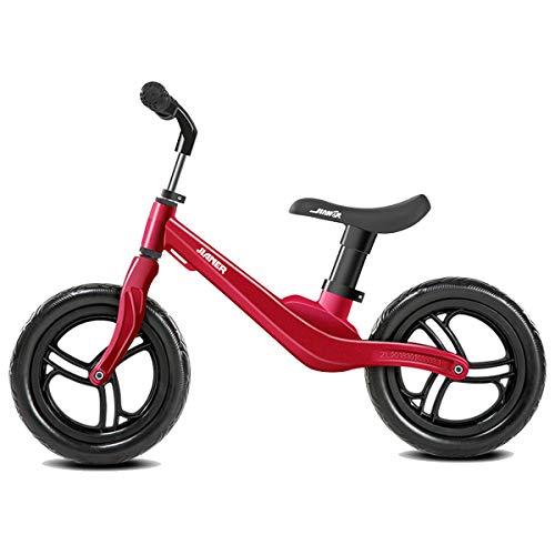 KuanDar bicycle 12-Zoll-Laufrad Lernen Rad Roller Kinder Fahrrad Schüler Fahrrad, Magnesiumlegierung, Luftfahrtmaterial