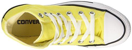 Converse 155738c, Sneaker a Collo Alto Uomo Giallo (Fresh Yellow)