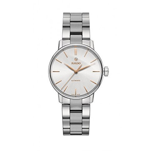 Rado Coupole Classic Silver Dial Two-Tone SS Automatic Ladies Watch R22862023 by Rado