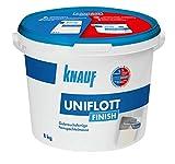 Knauf 129801 Uniflott Finish 8 kg, weiß
