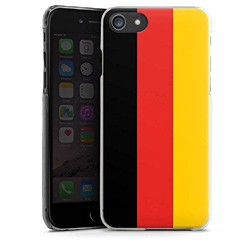 Apple iPhone X Silikon Hülle Case Schutzhülle Deutschland Flagge Fußball Hard Case transparent