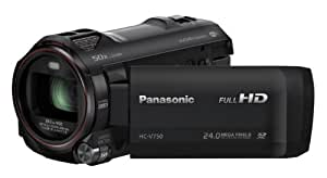 Panasonic HC-V750EB-K Full HD Camcorder - Black (24MP, 50x Intelligent Zoom, Wi-Fi, NFC) (New for 2014)