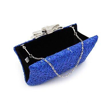 ZYT Damen Polyester Formell Alltag Veranstaltung / Fest Hochzeit Büro & Karriere Abendtasche Blue
