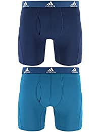 adidas Men's Relaxed Performance Climalite Boxer Brief Underwear (2 Pack)