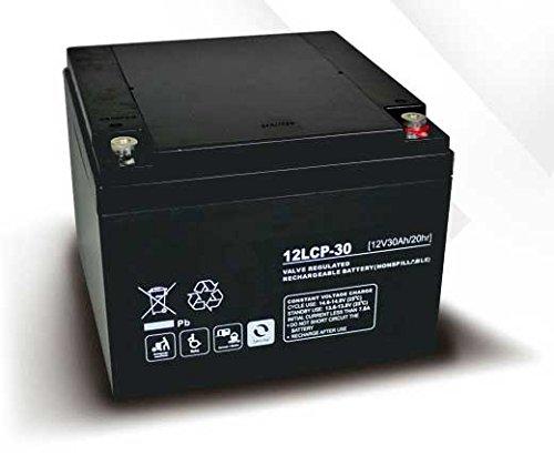 Akku kompatibel Windrad Generator Turbine Energie 12V 30Ah AGM Blei wartungsfrei