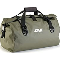 Givie EA115KG - Funda impermeable para asiento de motocicleta (40 L), color verde