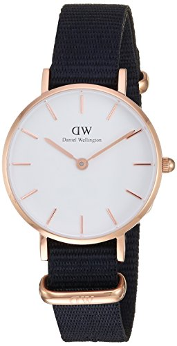 Daniel Wellington Unisex Analogue Quartz Watch with Nylon Strap DW00100251