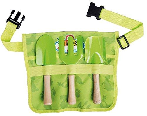 Esschert design - grembiule con attrezzi da giardinaggio, per bambini, dimensioni: circa 29 x 4,7 x 25 cm