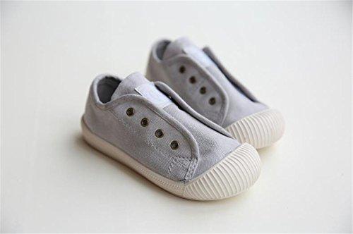 AILEESE Kid Denim Kinder Leinwand Baby Jungen Mädchen Soft Bottom Casual Flache Kleinkind Schuhe Student Sneakers Grau