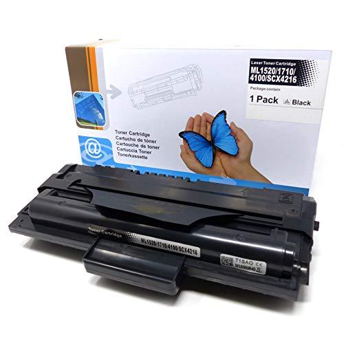 1x Toner (ersetzt ML1620/ 1710/4100/ SCX4216) für Samsung ML-1500-1755 SF-560-755P Xerox 3130-3210 SCX-4116-5216 Series -