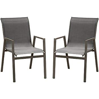 SunRise Chaise de Salon de Jardin en Aluminium Marbella Lot ...