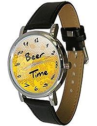 229b77b548cd Cerveza tiempo reloj de pulsera – humor – Reloj de regalo – inusual ...