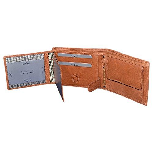 Le Craf Men's Wallet (Brown)