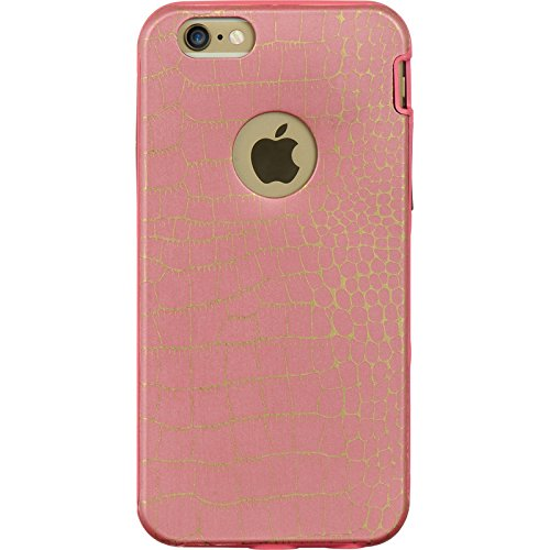 DreamWireless IMD TPU PC Hybrid Case für iPhone 6-Retail Verpackung-Pink Haut