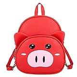 KERULA Sac D'éCole Pour Enfants, Cartoon Cute Pig Kindergarten Children Bag Mode Sac...