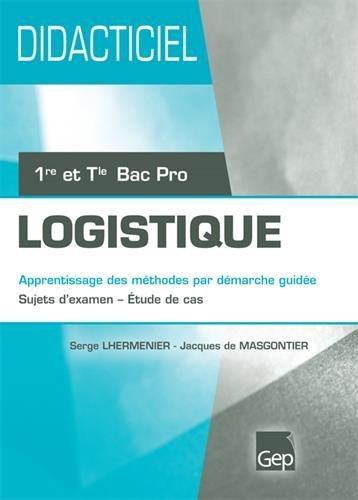Didacticiel bac pro logistique