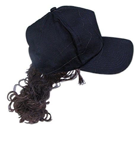 ay mit brauner Vokuhila Perücke - Einheitsgröße / verstellbar (Hüte Mit Perücken)
