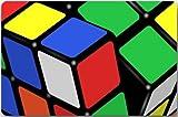 wwoman Cubo mágico, Cubo de Rubik, máquina de Rompecabezas de Cubos Limpie la Parte Superior de la Tela y el Respaldo de Goma Antideslizante Duradero 16 x 24,40 cm x 60 cm