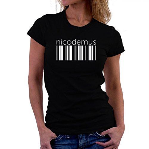 Maglietta da donna Nicodemus barcode