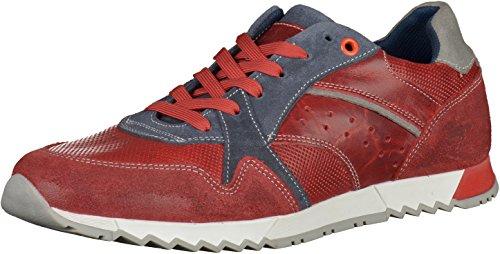 Mustang 4898-301 hommes Baskets Rouge/Bleu
