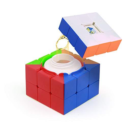 würfel verstecken Kreative Geschenk-Vorratsbehälter Rubik Würfel Aufbewahrungsbox Spielzeug NET Red Oracle ()