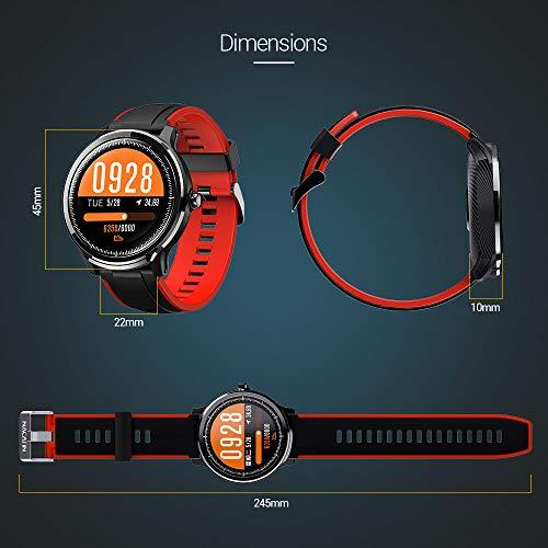 Imagen de smartwatch,reloj inteligente impermeable ip68,bluetooth relojes deportivos pantalla táctil completa para monitor deportivo para dormir,pulsera actividad inteligente hombre mujer para ios y android alternativa