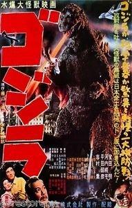 Godzilla (Gojira) (1954) Japanische Film Poster 24x 36 - Poster-japanisch Godzilla