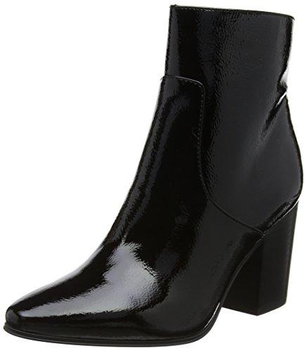 Calvin Klein Jeans Adrienne Crinkle Patent, Stivaletti Donna, Nero (Black 000), 38 EU