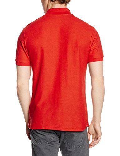 Fruit of the Loom Herren Poloshirt Red