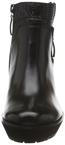 GERRY WEBER Damen Vicenza 02 Kurzschaft Stiefel Schwarz (schwarz 100)