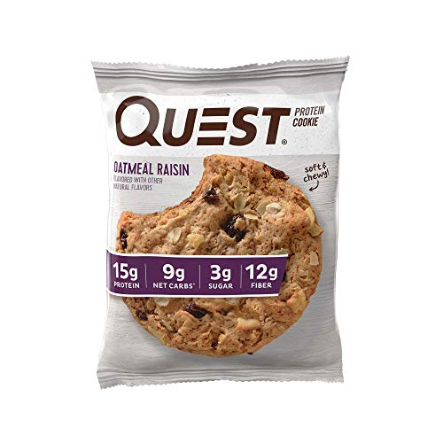 Quest Nutrition Protein Cookie Oatmeal Raisin, 708