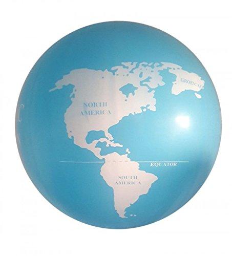 Mappamondo gonfiabile da 90 cm! palloncino globo