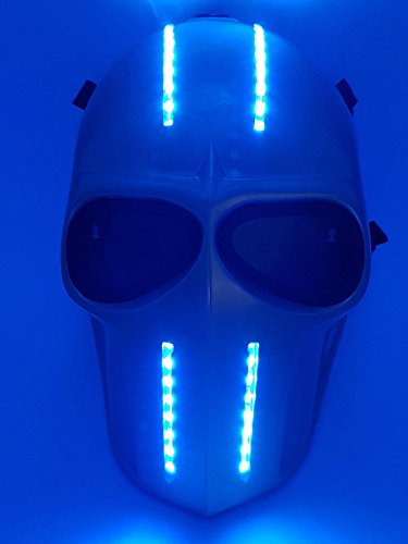 Softair Maske LEDs Army of Two schutzausrüstungen Outdoor Sport Fancy Party Masken BB Gun