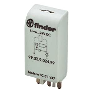 Module indicateur LED + diode 28 - 60 V/DC Finder 99.02.9.060.99