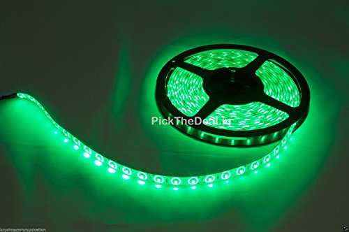 K3 5M Meter Led Smd Strip Light Green 3528 60 Led 12V Dc_Green