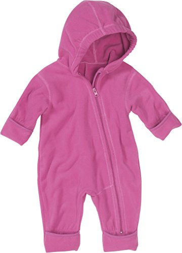 Playshoes Unisex - Baby Overall Fleece-Overall von Playshoes, Art. 421002, Gr. 74, Rosa (14 rose)