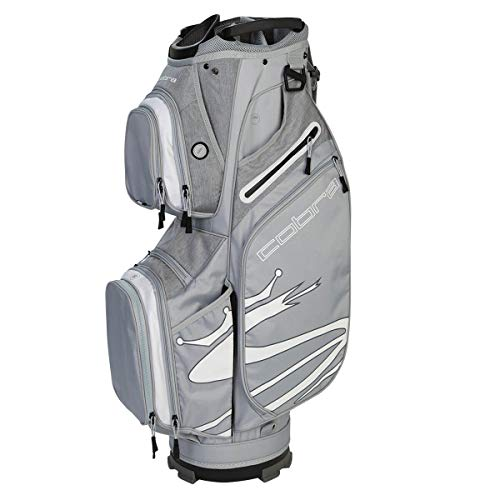 Cobra Ultralight Golf Cart Bag - Quarry/Weiß -